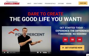 Four Percent Challenge Review - 4% Sales Page