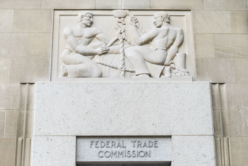 Federal Trade Commission Entrance